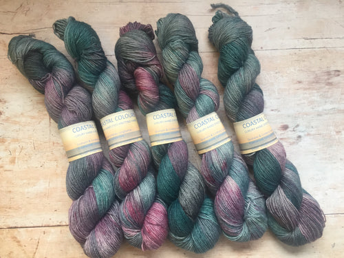 Coastal Colours - Hand Dyed BFL 4 ply