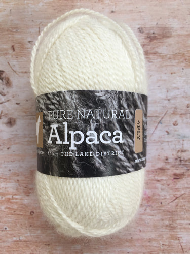 Town End Alpacas - Pure Natural Alpaca 4 ply