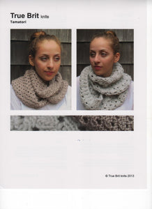 Town End Alpacas - Tamatori Cowl Pattern