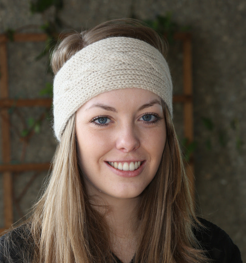 Town End Alpacas - Cable Headband