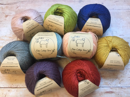Eden Cottage Yarns - Milburn 4ply