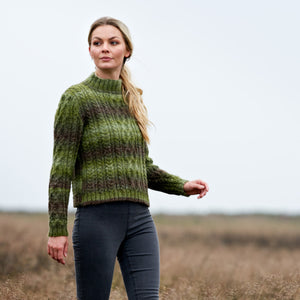 WYS - The Croft - Wild Shetland - Alana Sweater Kit