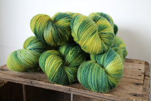 Load image into Gallery viewer, Northern Yarn - Jennett 4 ply Poll Dorset Lambswool hand dyed by RiverKnits