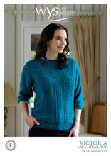 Load image into Gallery viewer, WYS Victoria Top - Individual Pattern for Exquisite Lace