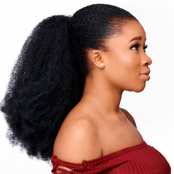 Ponytail Hair Extensions For Kinky Natural Hair Natural Girl Wigs