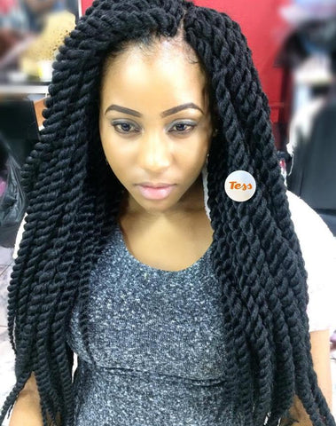Long Crochet Twist Braids