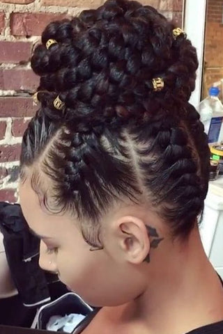 African Ponytail Braids - Natural Girl Wigs