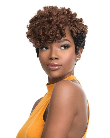 Short Curly Crochet Hairstyle