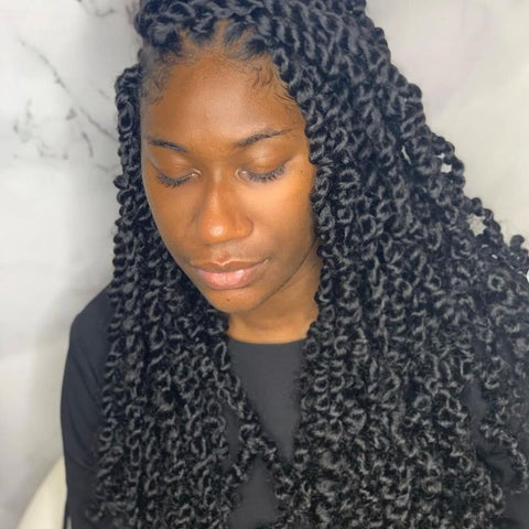 Passion Twists Crochet Braids