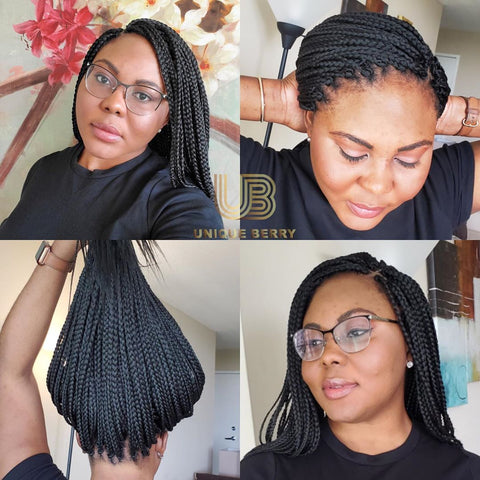 Medium Length Crochet Box Braids