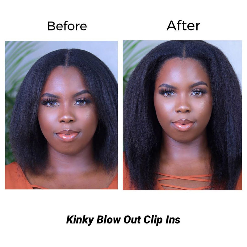 Kinky Blow Out Clip Ins