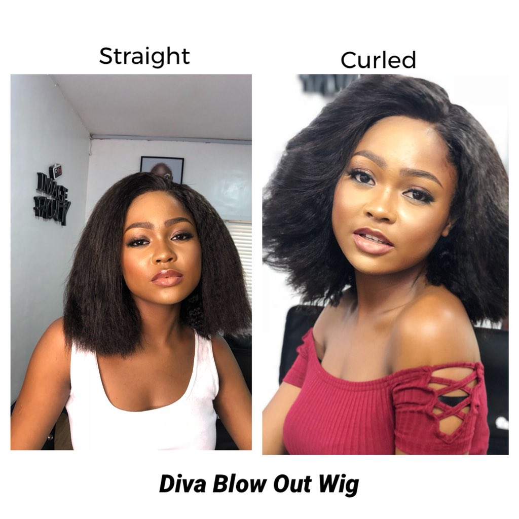 Diva Blow Out - Kinky Blow Out Wig