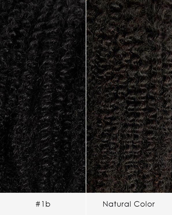 Kinky Curly Weave Hair Extension - 3B/3C