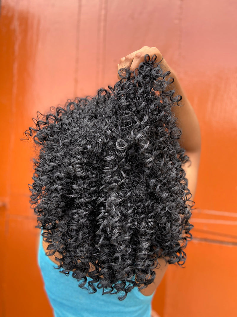 Wig Keisha - Faux Curly Afro