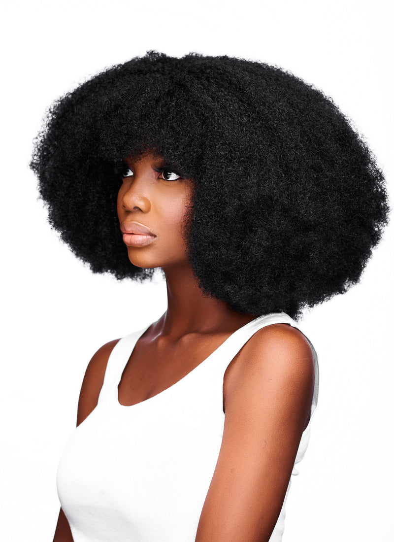 Wig Arewa - 4B/4C Afro Hair - 12 Inches