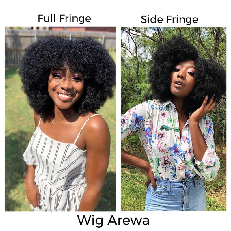 4b 4c Afrocentric Hair Wig Arewa Natural Girl Wigs