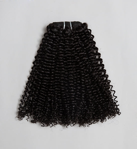 Curly Textured Weave Hair Extension - 3B/3C