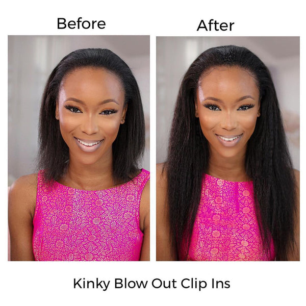 Clip Ins For 3b 4c Kinky Hair Virgin Hair Extensions Natural Girl Wigs