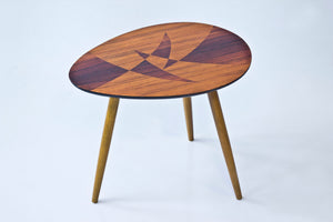 Swedish 1950s inlay table