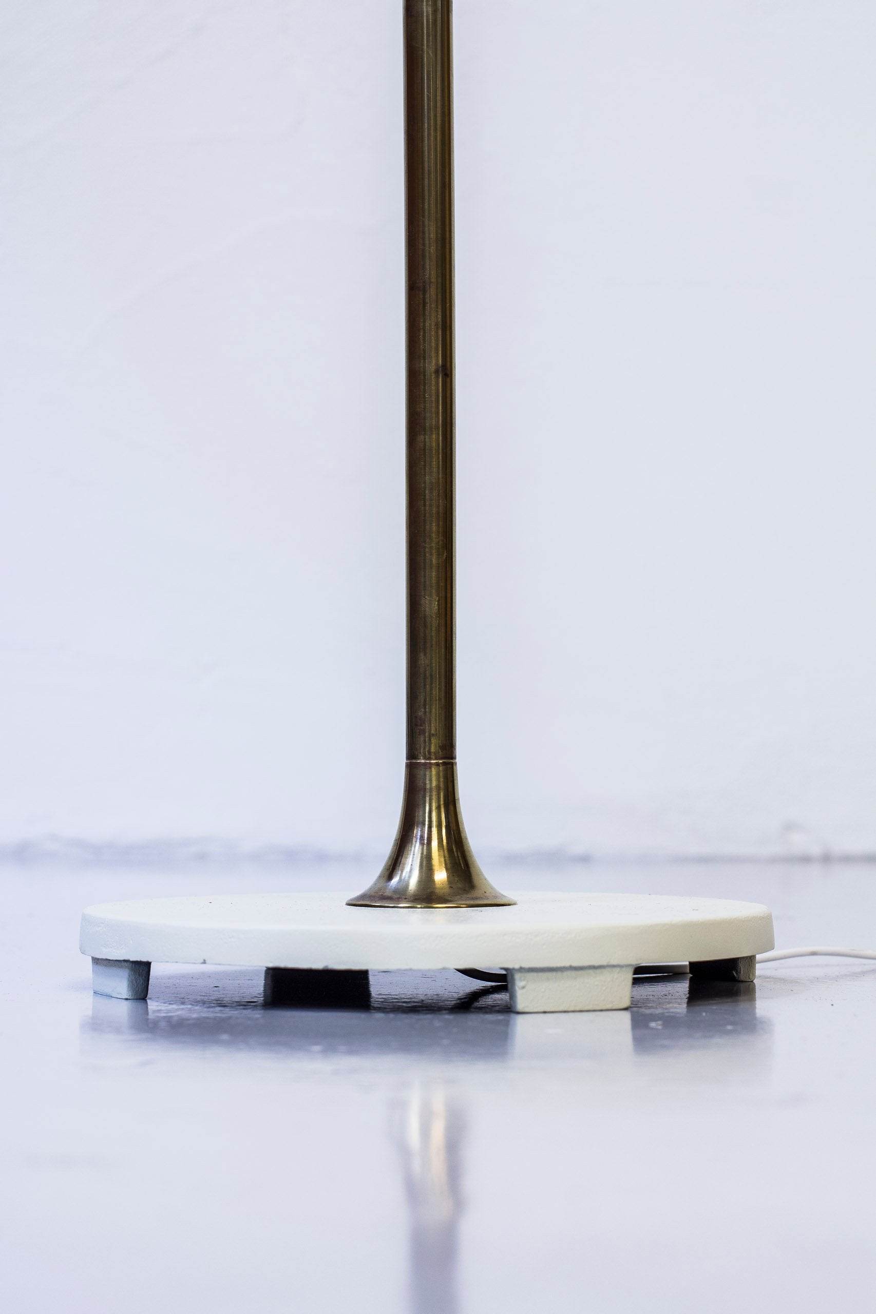 1940s Danish uplight floor lamp