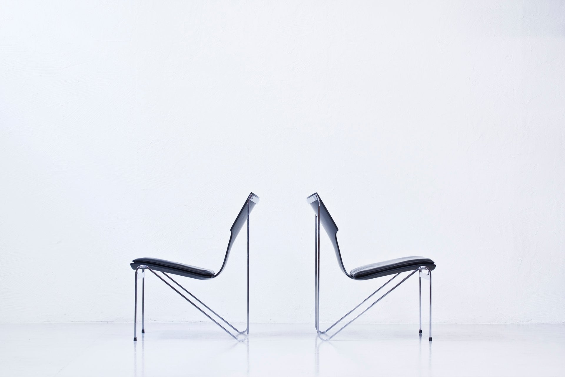 1960s easy chairs by Sigurd Persson