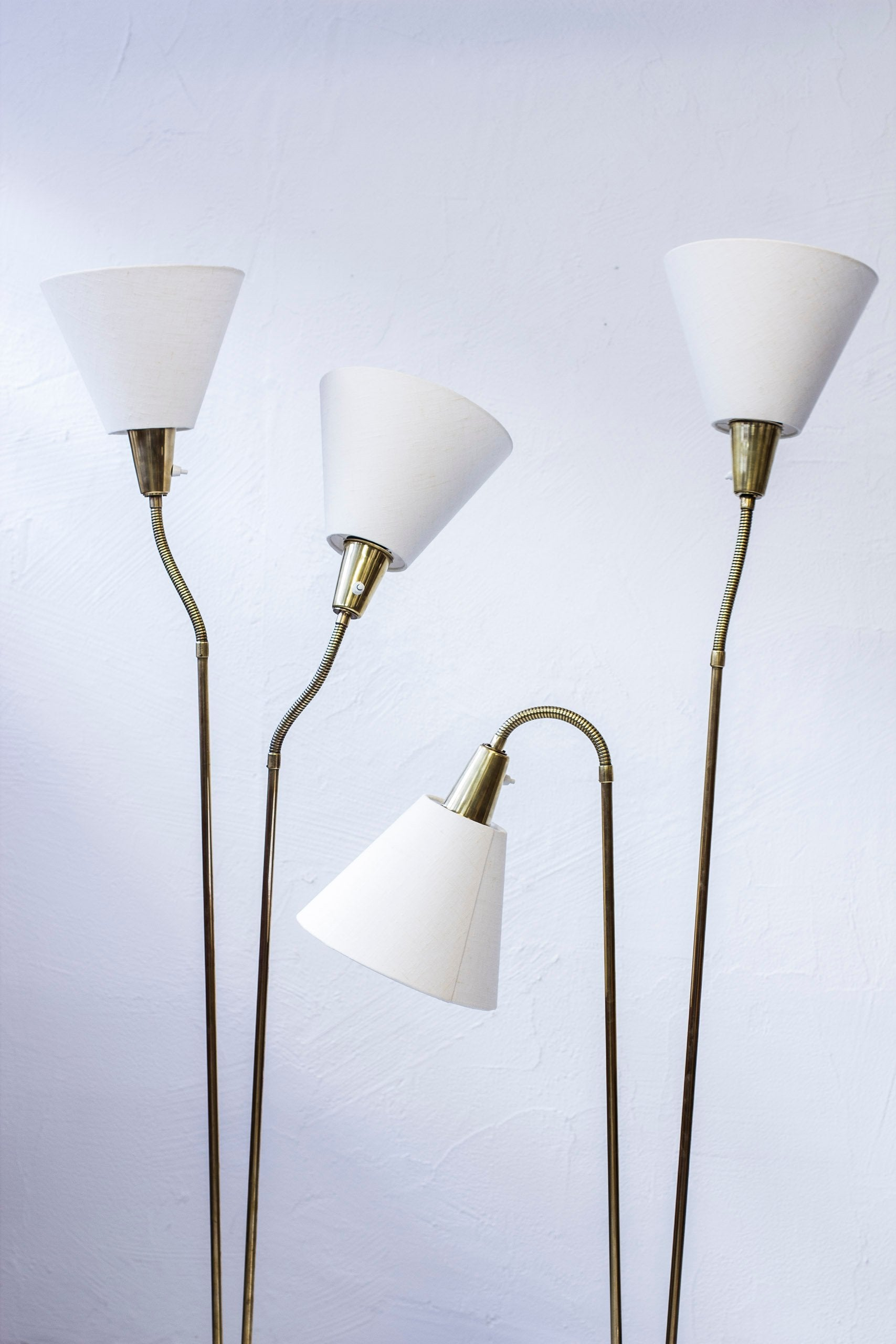 Pair of floor lamps by Sonja Katzin
