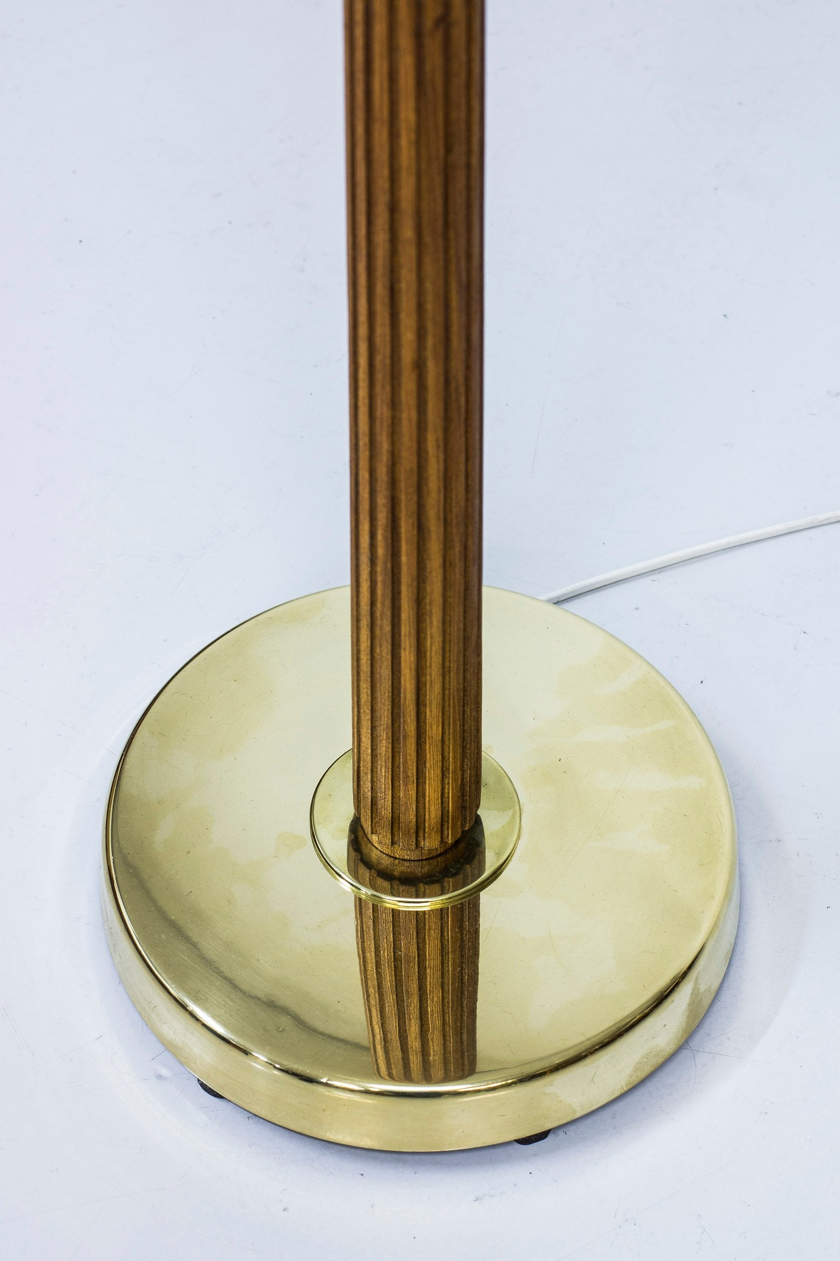 Rare 1940s floor lamp by Hans Bergström