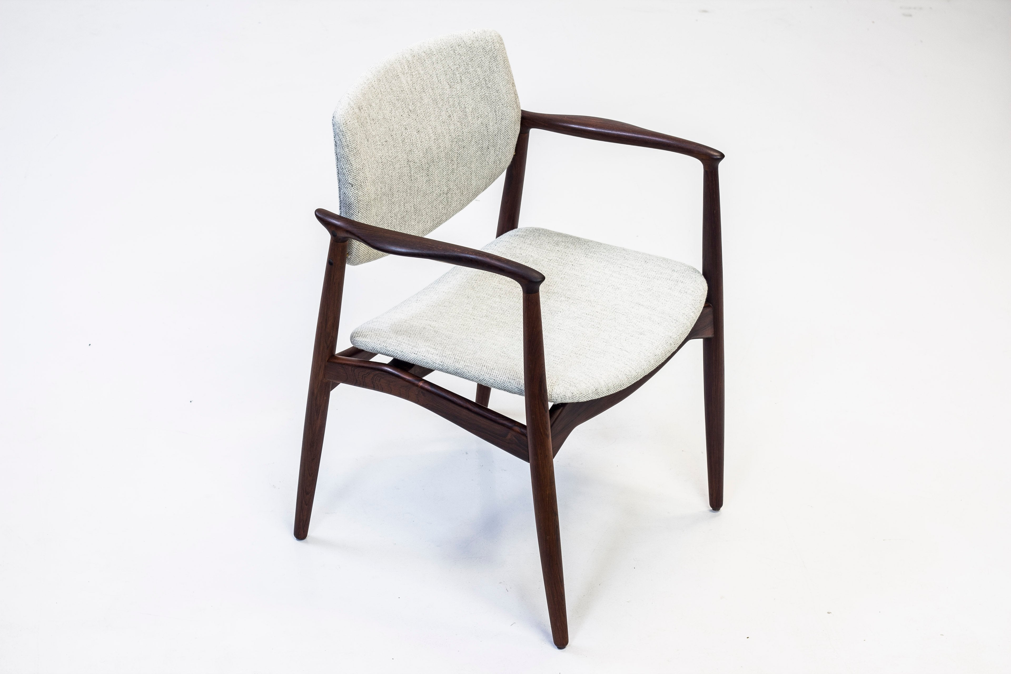 1950s Palisander Arm chair by Erik Buch