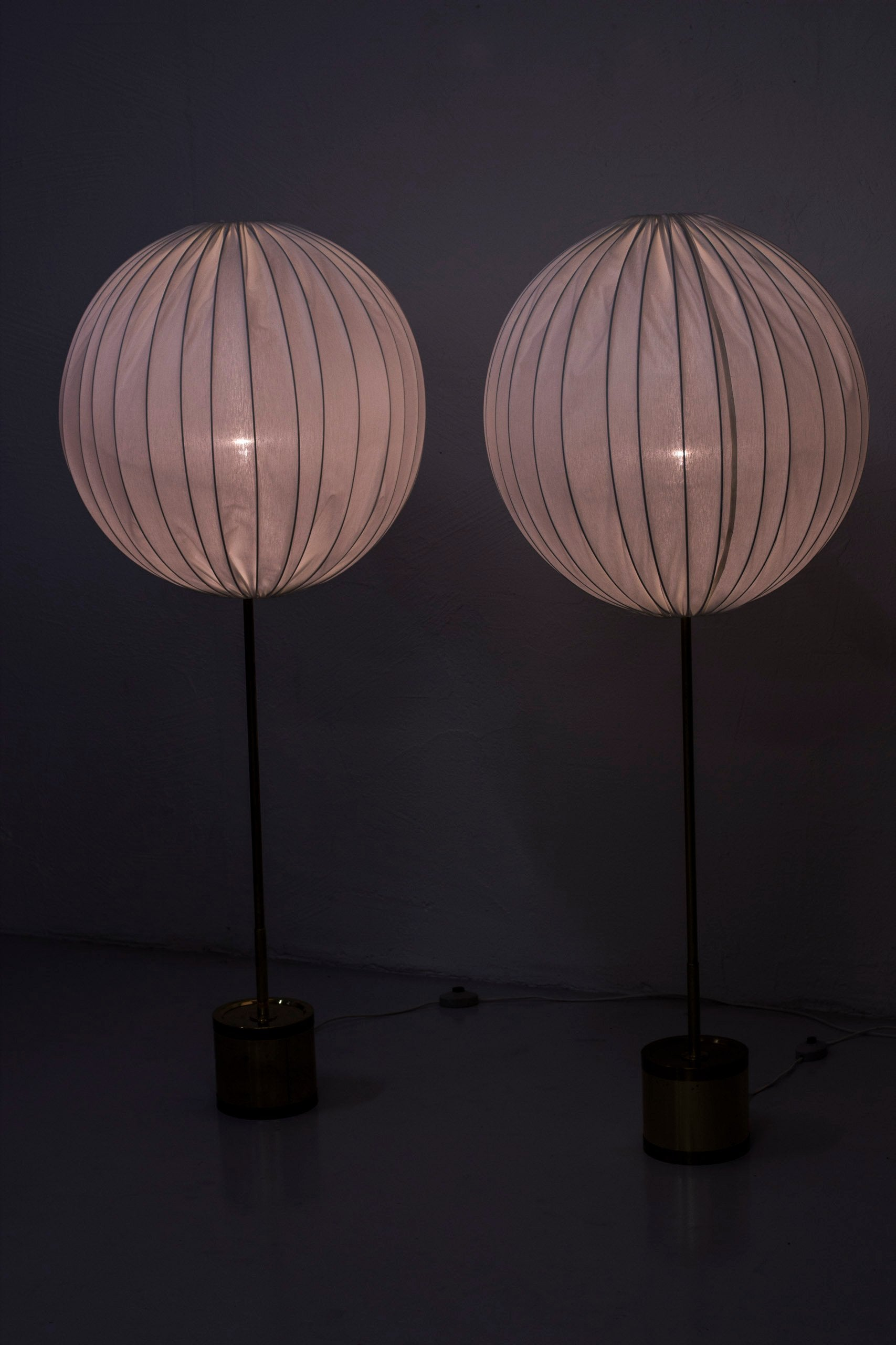 "Floor lamps ""G123/600"" by Hans Agne Jakobsson"