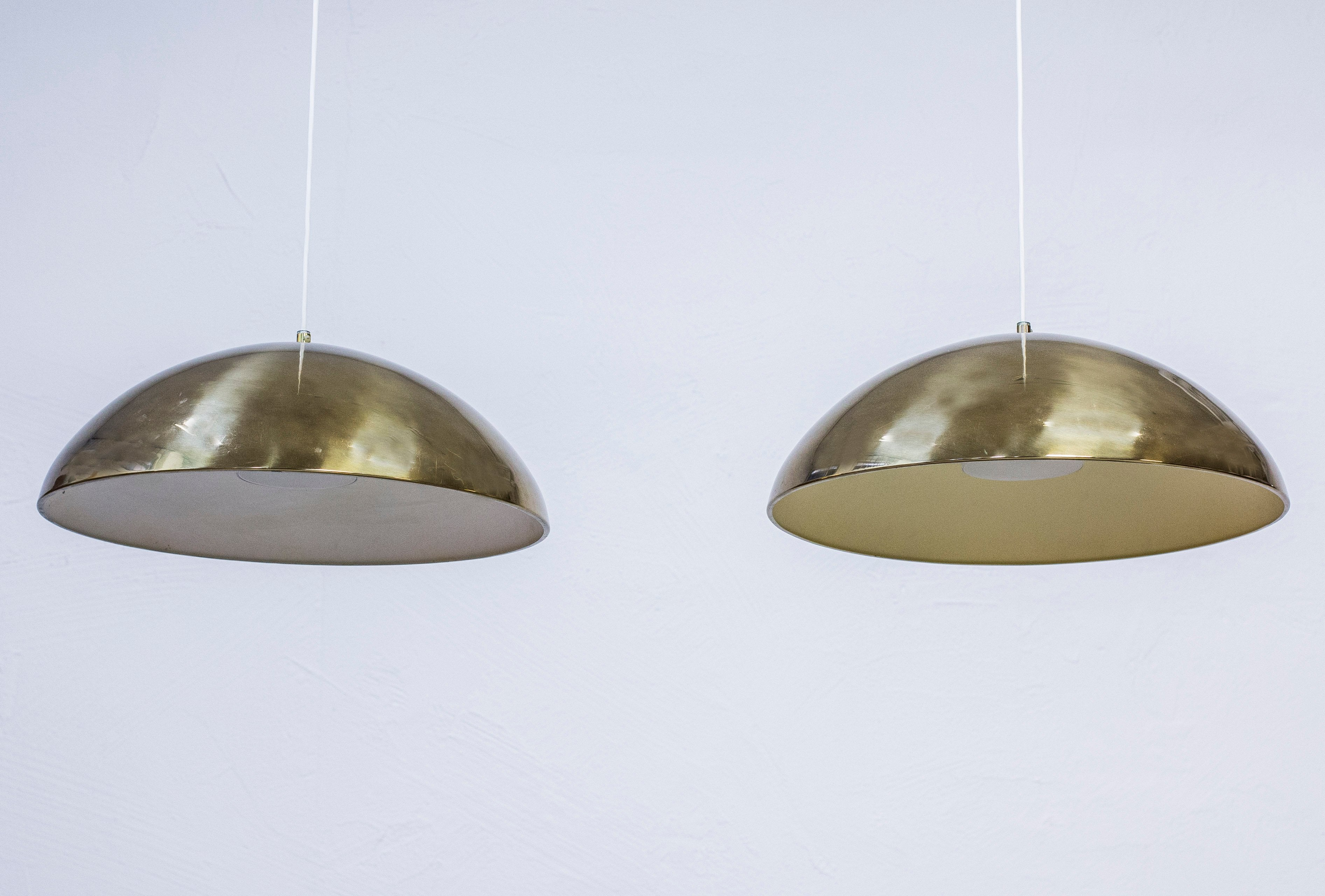 "1960s ""T-29"" ceiling lamps by Bergboms"
