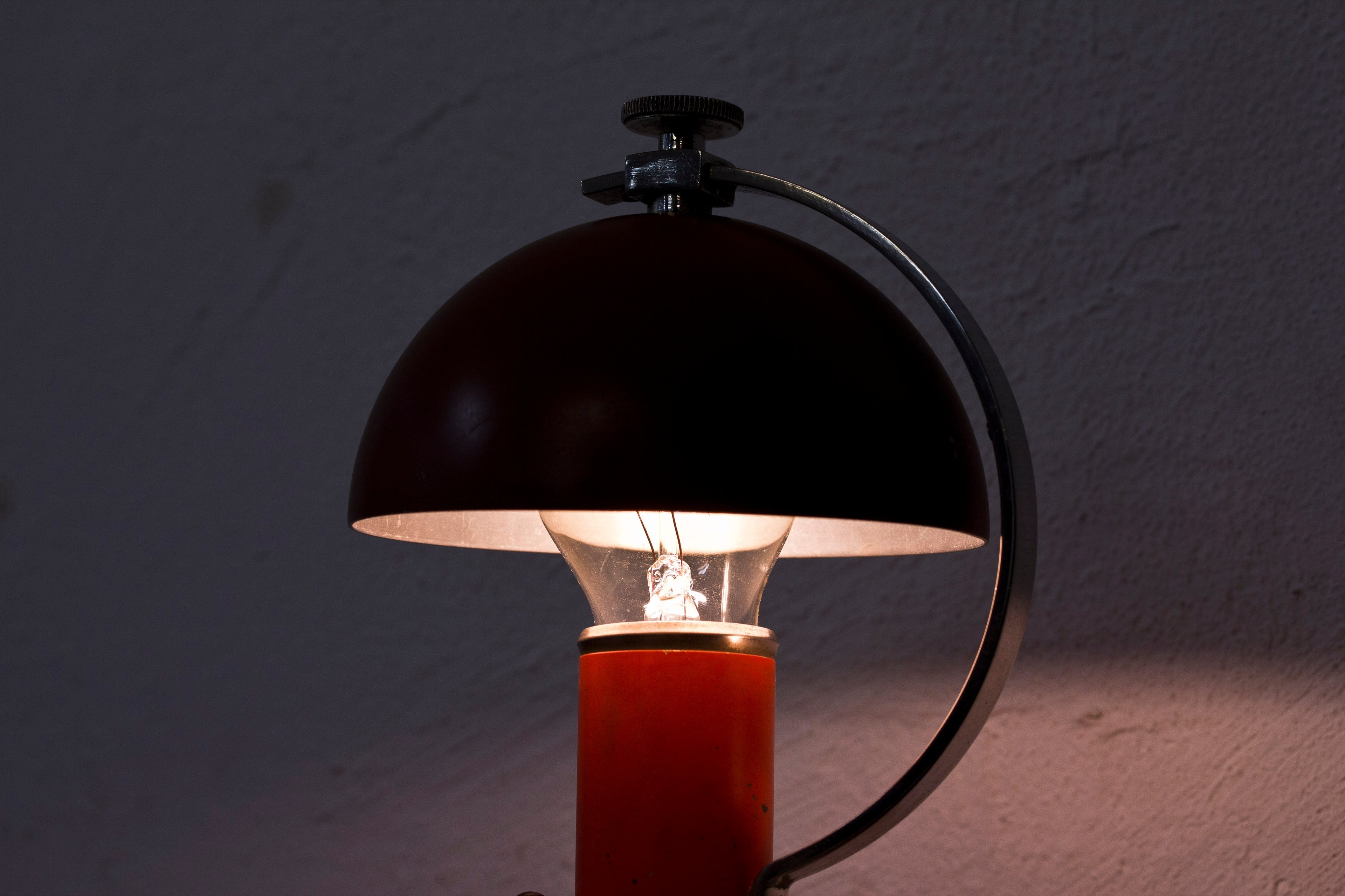 1930s wall/table lamp by Erik Tidstrand