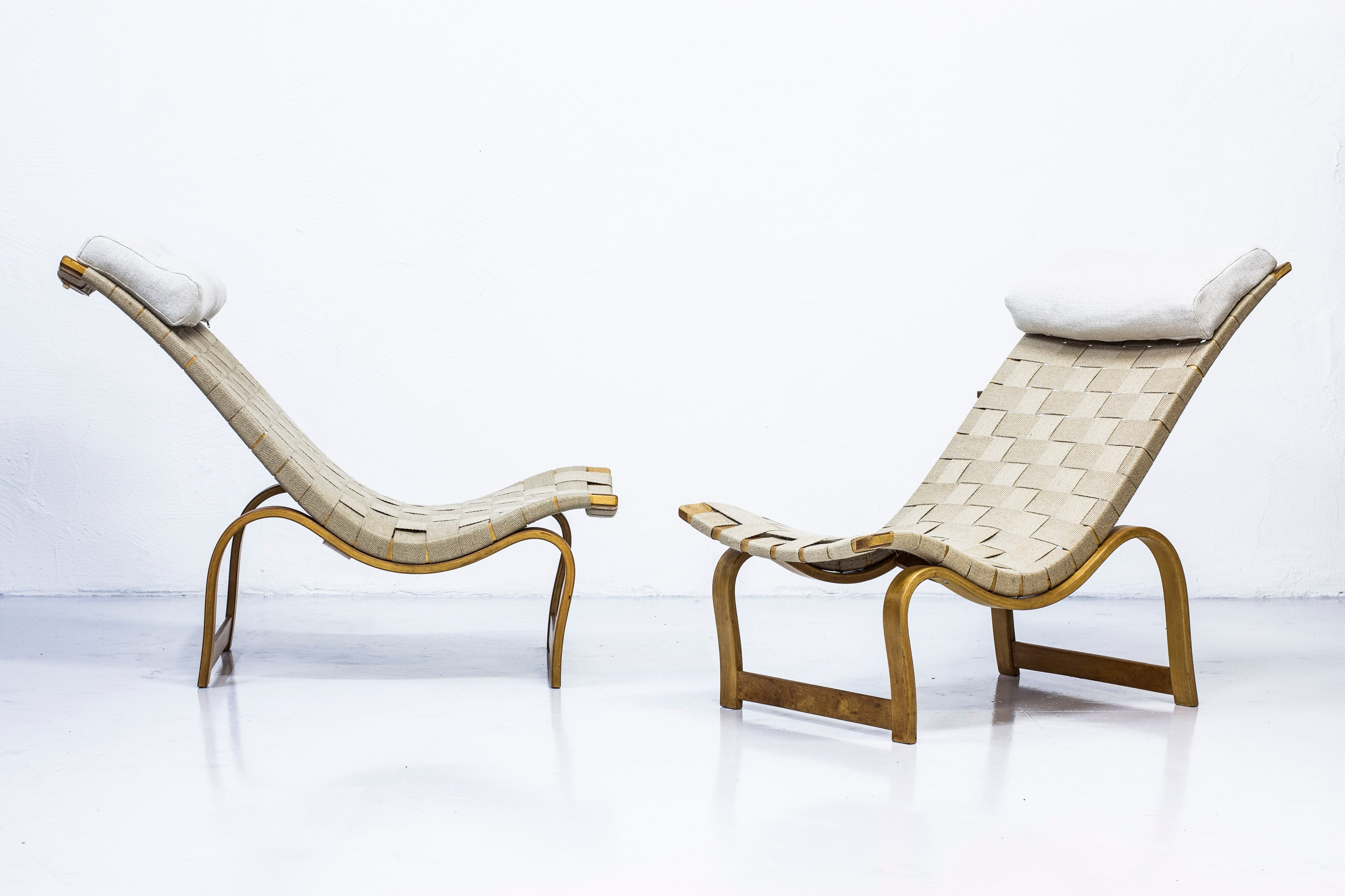 "Pair of Early ""Vilstol"" by Bruno Mathsson"