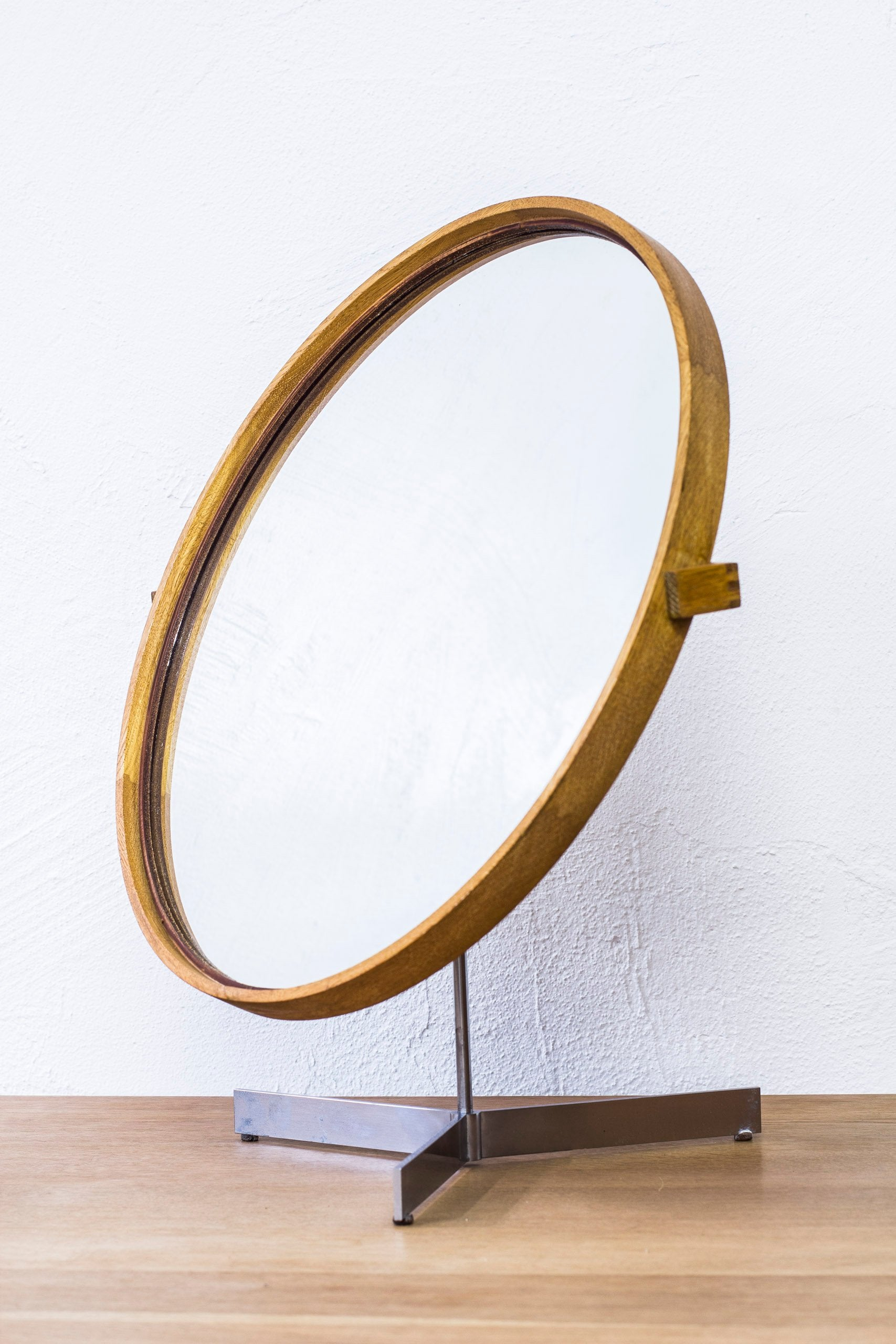 Table mirror by Uno & Östen Kristiansson