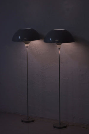 Rare pair of floor lamps by Hans Agne Jakobsson