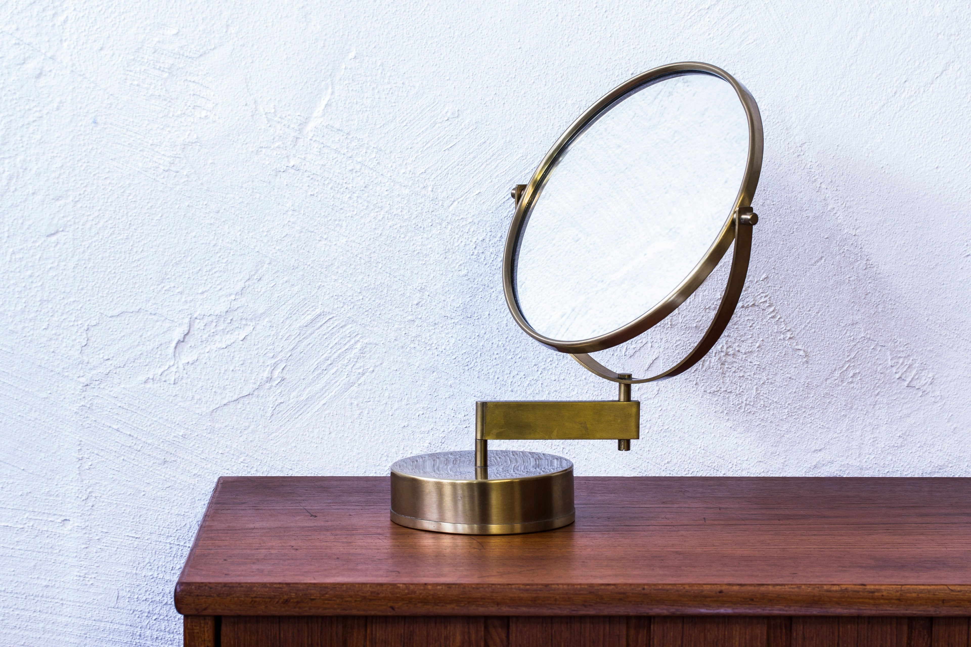 Vanity mirror by Hans Agne Jakobsson