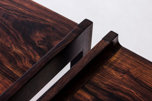 Palisander side tables by Ingemar Relling