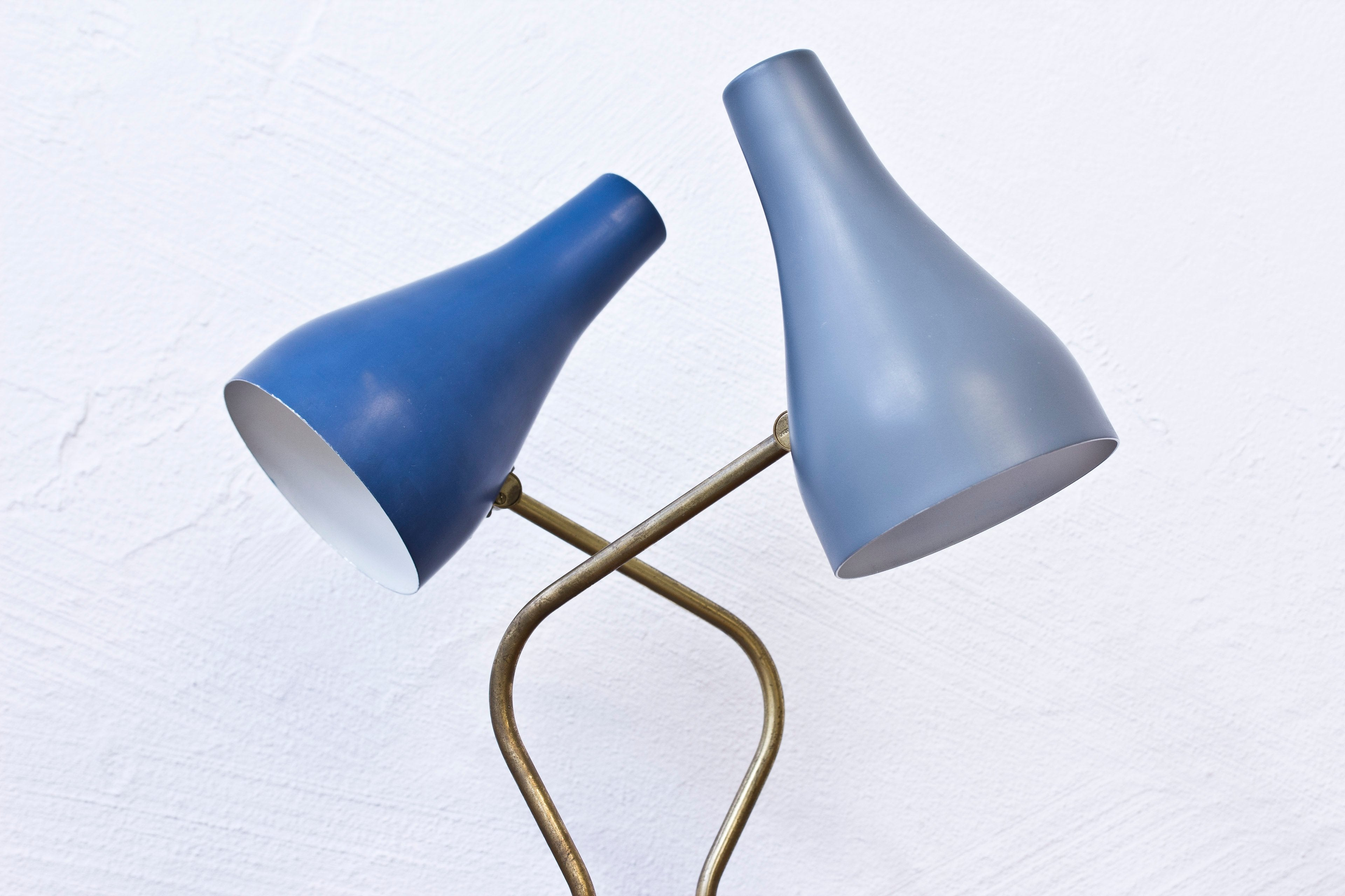 Swedish 1950s table lamps by ASEA