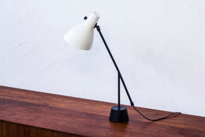 Swedish 1950s table lamp by Luco