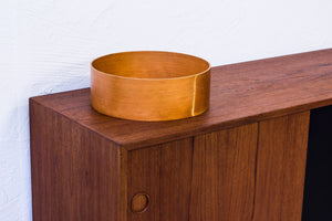 1950s Oregon pine bowl by Torsten Johansson