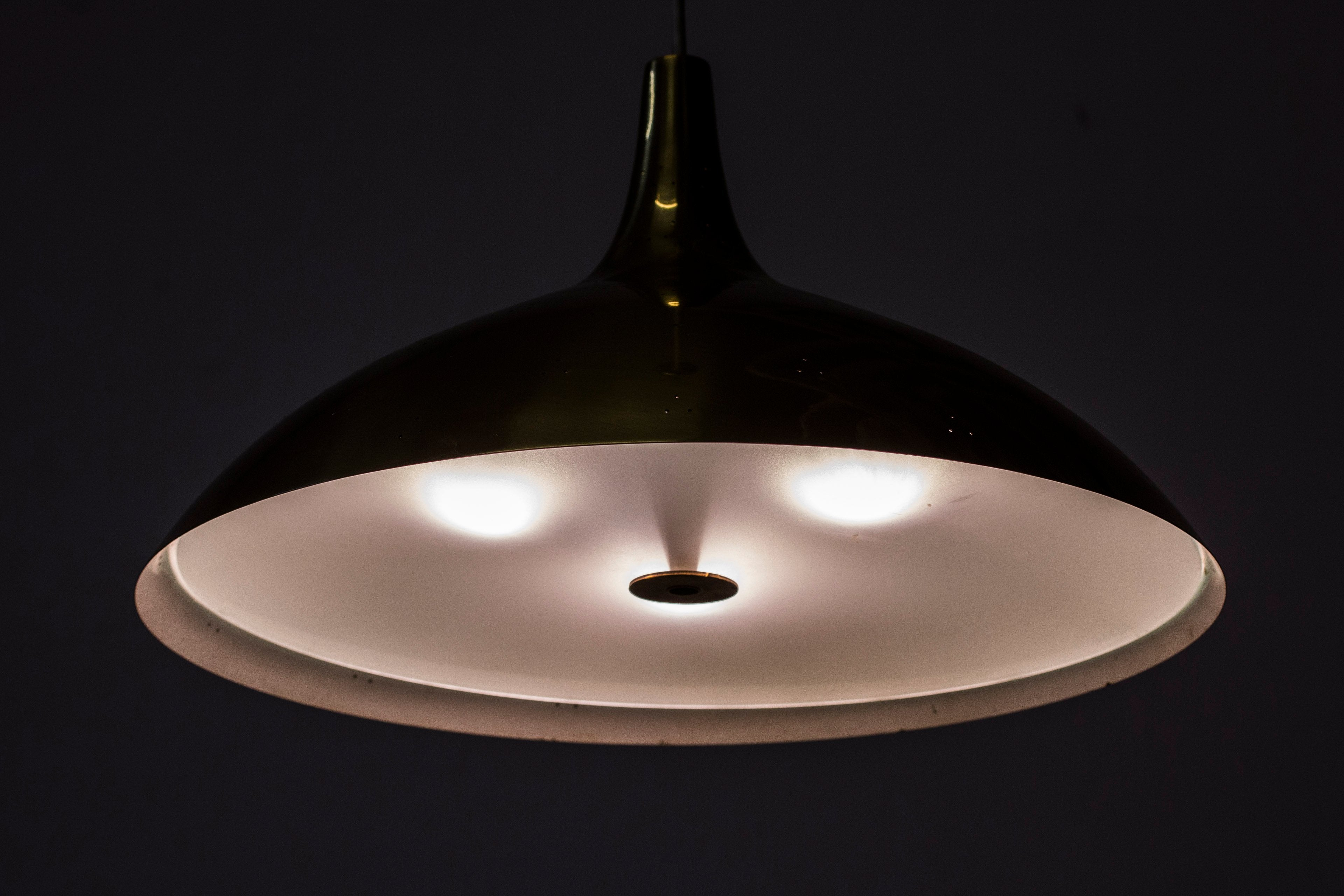 1940s pendant lamp by Paavo Tynell