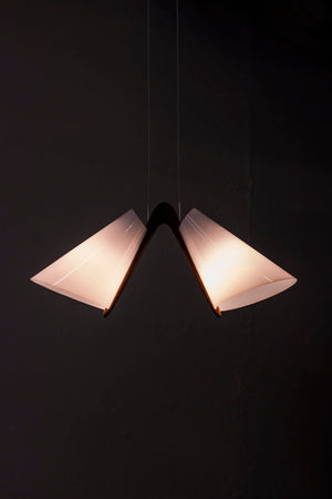 Rare ceiling light by Uno & Östen Kristiansson