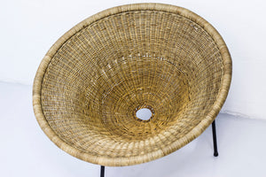 1950s Wicker easy chair by Sven Staaf
