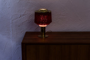 """Fringe"" table lamp by Hans Agne Jakobsson"