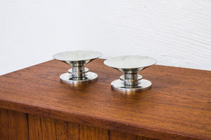 1930s Pewter candle sticks by Sylvia Stave