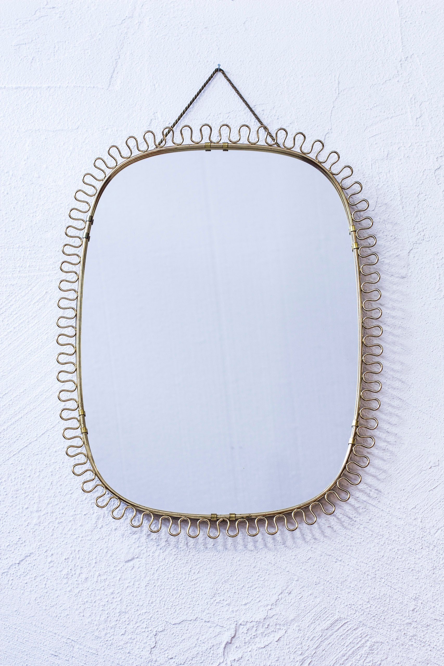 1950s wall mirror by Josef Frank
