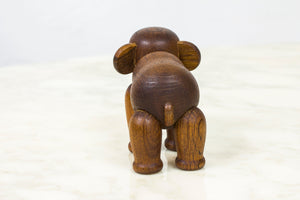 Wooden elephant by Kay Bojesen
