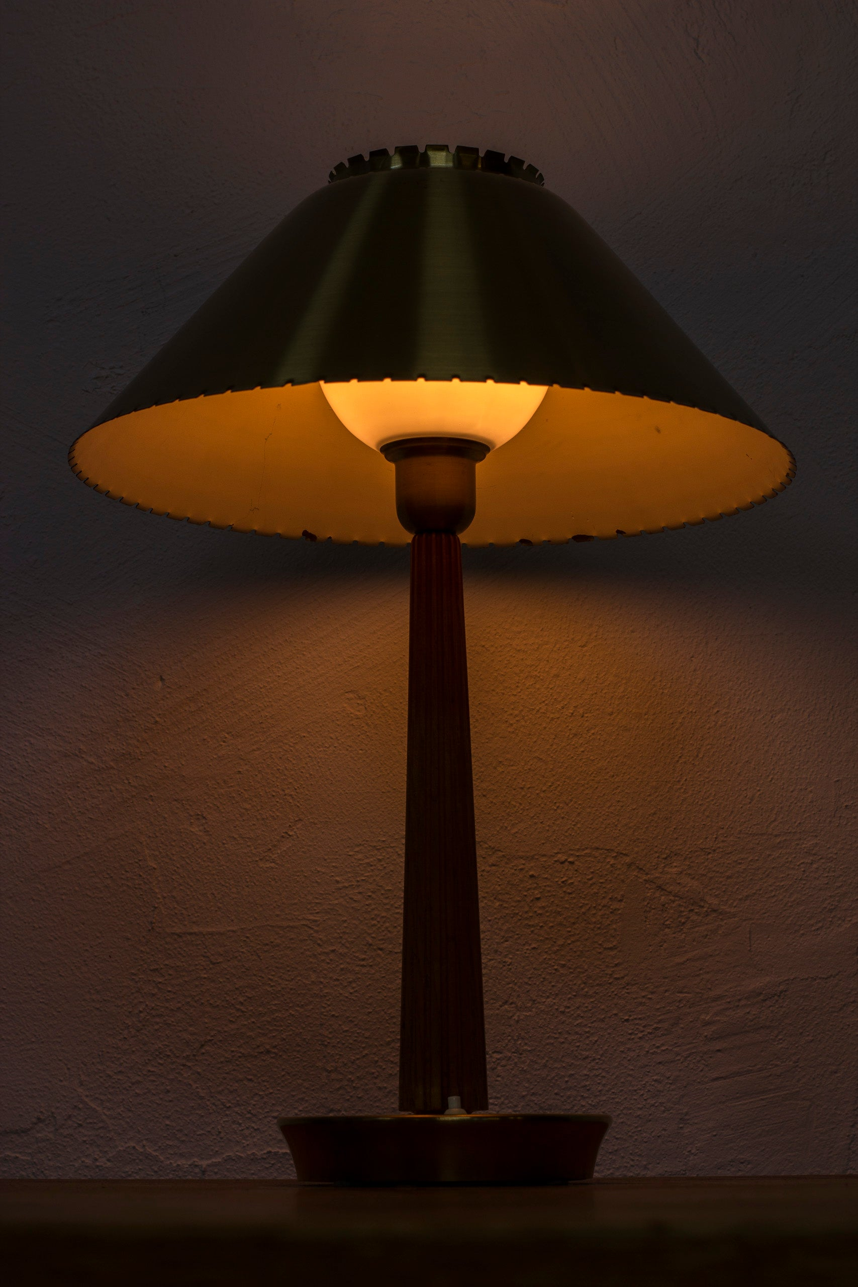 1950s table lamp by ASEA