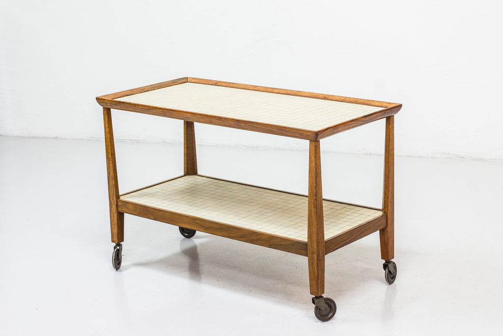 1940s Serving trolley by Otto Schulz