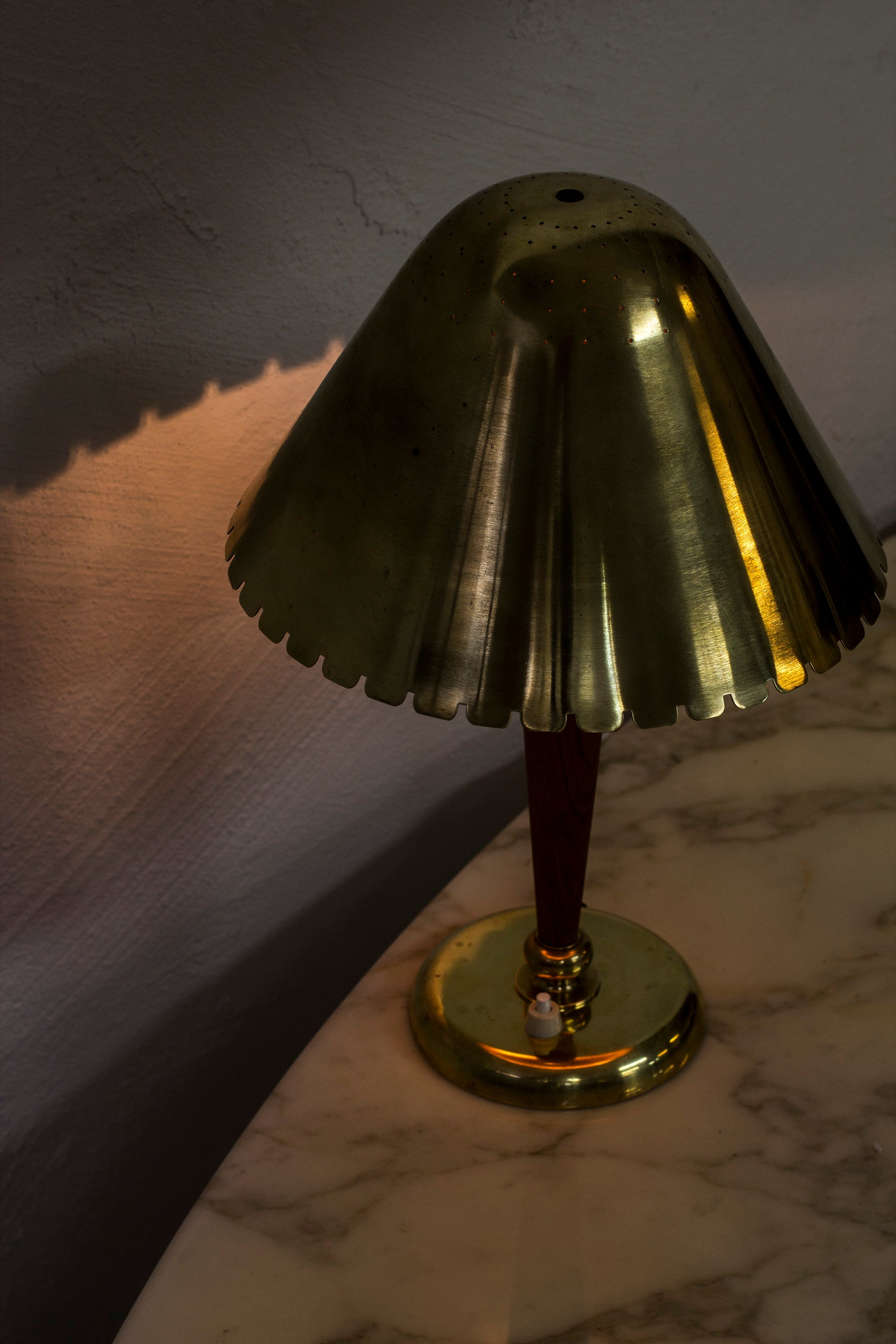 1940s table lamp attributed to Böhlmarks