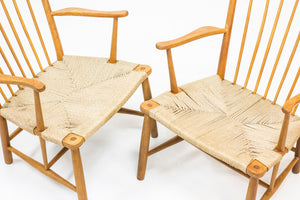 """Magasin du Nord"" easy chairs by Hans J. Wegner"